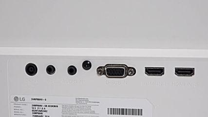 Видео ревю на Монитор LG 24MP88 - Част 1