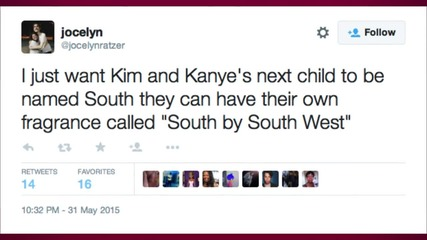 Social Media is Blowing Up With Name Ideas for Kim and Kanye's Next Baby