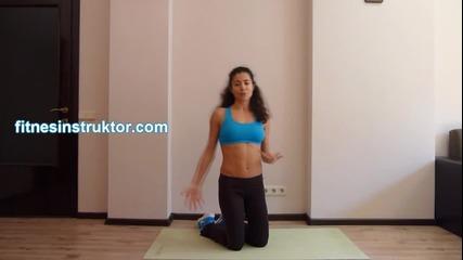 Смазващи корема упражнения