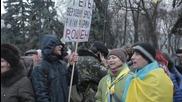 Ukraine: Protest held outside parliament against disputed Krivoi Rog mayor