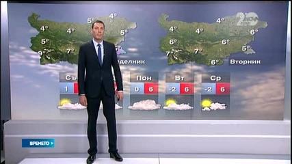 Прогноза за времето (21.11.2014 - централна)