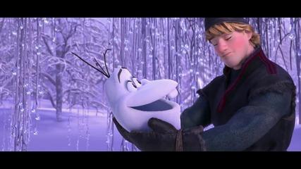 Замръзналото кралство - дублиран трейлър на анимационната комедия :)