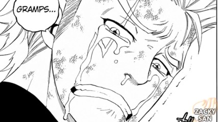 Fairy Tail Manga - 537 The Power of Life