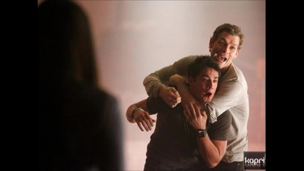 Снимки от 3-тия сезон на The Vampire Diaries (hhh)