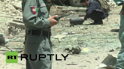 Afghanistan: Bomb targets NATO forces in Kabul