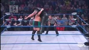 Samoa Joe - Inverted Atomic Drop + Big Boot Followed By Senton