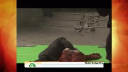Robert Pattinson on Today Show ;;