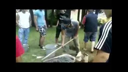 Street Fitness Chepelare - Построяване на лост
