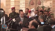 In First Speech, Defiant Yemen President Challenges Shiite Rebels Who Once Held Him Captive