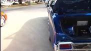 442 Oldsmobile Cutlass Supreme Vert On 24 Asant's!!