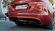 Jaguar XE S 3 0 V6 - форсиране и ускорение