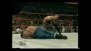 Triple H Vs The Rock
