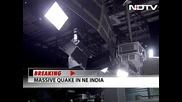 Силно земетресение в Непал и Северна Индия