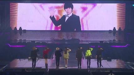 (бг превод) Super Junior ft f(x) (ss4) - Oops