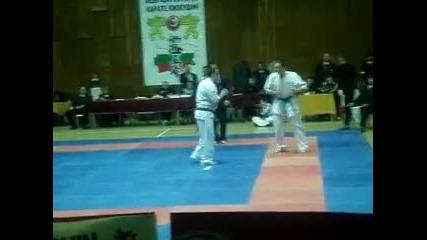 Shinkyokushin National Championship Dimitrovgrad 06.03.2010 Todor Balinov