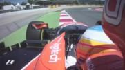Ф1 - Алонсо - Квалификационна обиколка на пистата Каталуня