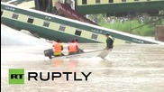 Pakistan: 12 soldiers killed as bridge collapses, sabotage suspected
