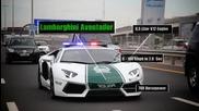 С какво се оборудва дубайската полиция