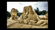 Пясъчни фигури в Бургас