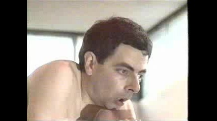 Mr. Bean - На Басейн