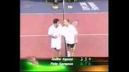 ATP Tour World Championship : Сампрас - Агаси - Част 13/15