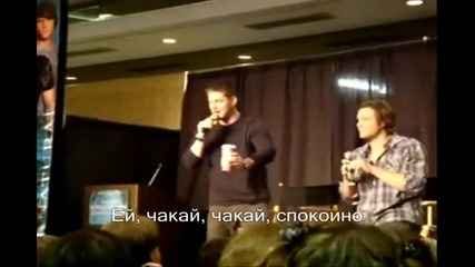 Jensen & Jared - Funny Moments 14 (subs)