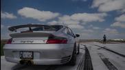 Да загубиш управление при 300 km/h с Porsche 1300 hp !