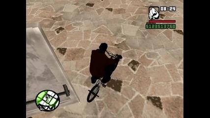 Gta San Andreas бъг с колело част 2