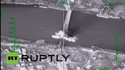 Syria: Russian airstrike destroys suspected militant weapon supply bridge