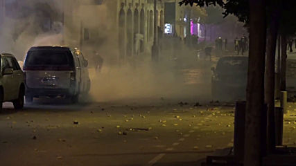 Lebanon: Protesters rejecting new government clash with police