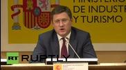 Spain: Economic and bilateral cooperation should continue despite EU sanctions - Novak