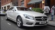 Mercedes Cls 350 покрит с кристали swarovski