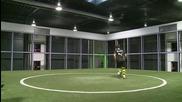 Модерна машина за тренировки по футбол
