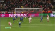 Арсенал 1:3 Монако 25.02.2015