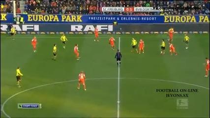 Дортмунд отлепи от дъното / Фрайбург - Борусия (дортмунд) 0:3