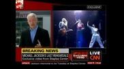 Cnn излъчи кадри от последната репетиция на Michael Jackson провела се на 23.06.2009