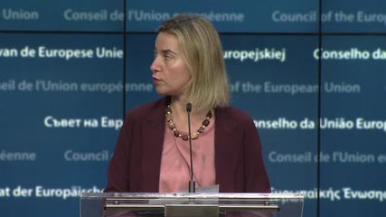 Belgium: Mogherini and Yatsenyuk meet to talk over Association Agreement