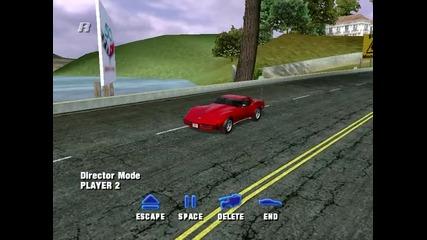 Малко прост gameplay на играта Corvette