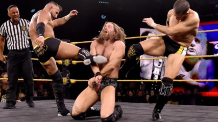Undisputed ERA vs. Grizzled Young Veterans – Dusty Rhodes Tag Team Classic Semifinal Match: WWE NXT, Jan. 22, 2020