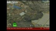 Цунамито заляло Япония 11.03.2011 - от птичи поглед