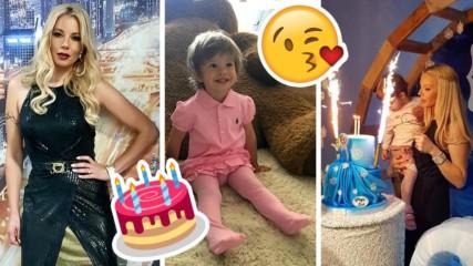 Малката принцеса на Емилия с чуден подарък за ЧРД, ето как мина празникът
