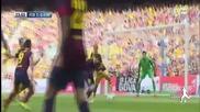 17.05.14 Атлетико Мадрид е шампион - развали традицията на Барселона и разплака Кам Ноу след 1:1