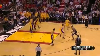 Los Angeles Lakers @ Miami Heat 87 - 98 [19.01.2012]