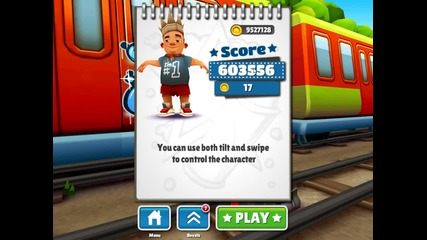 Subway surfers Рекорда ми :)