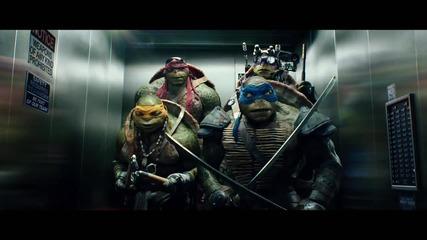 """КОСТЕНУРКИТЕ НИНДЖА-откъс """"В асансьора"""""""