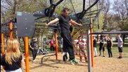 Йордан Йовчев и кметът на София откриват улична площадка