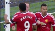 Уейн Рууни с красив гол за Манчестър Юнайтед при класиката срещу Евертън