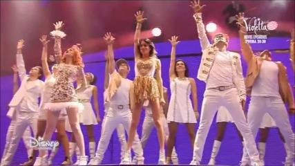 Violetta Live: Филмът - ч.5 + превод