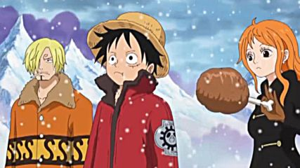 one piece funny moment nami feeds luffy