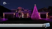 Австралиец украси къщата със хиляди лампи, карайки ги да светят в ритъма на Gangnam Style